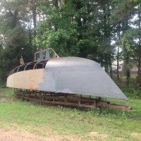 BRUCE ROBERTS 345, STEEL, PROJECT BOAT
